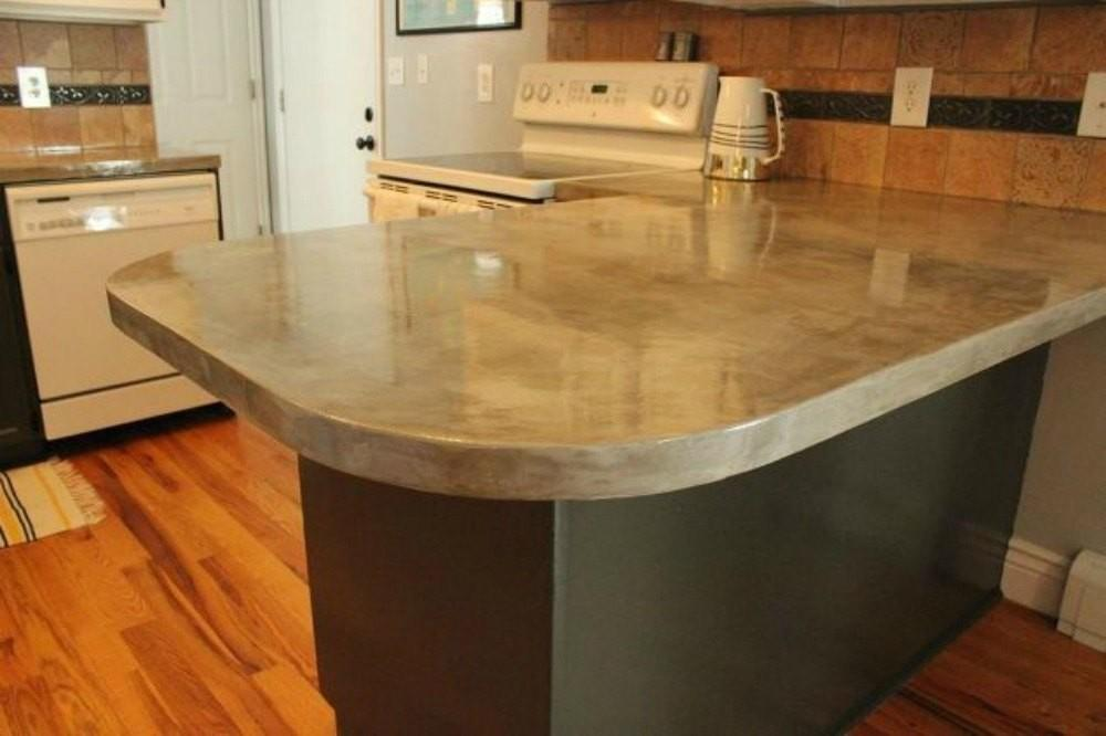 Different Ways Make Your Own Concrete Kitchen