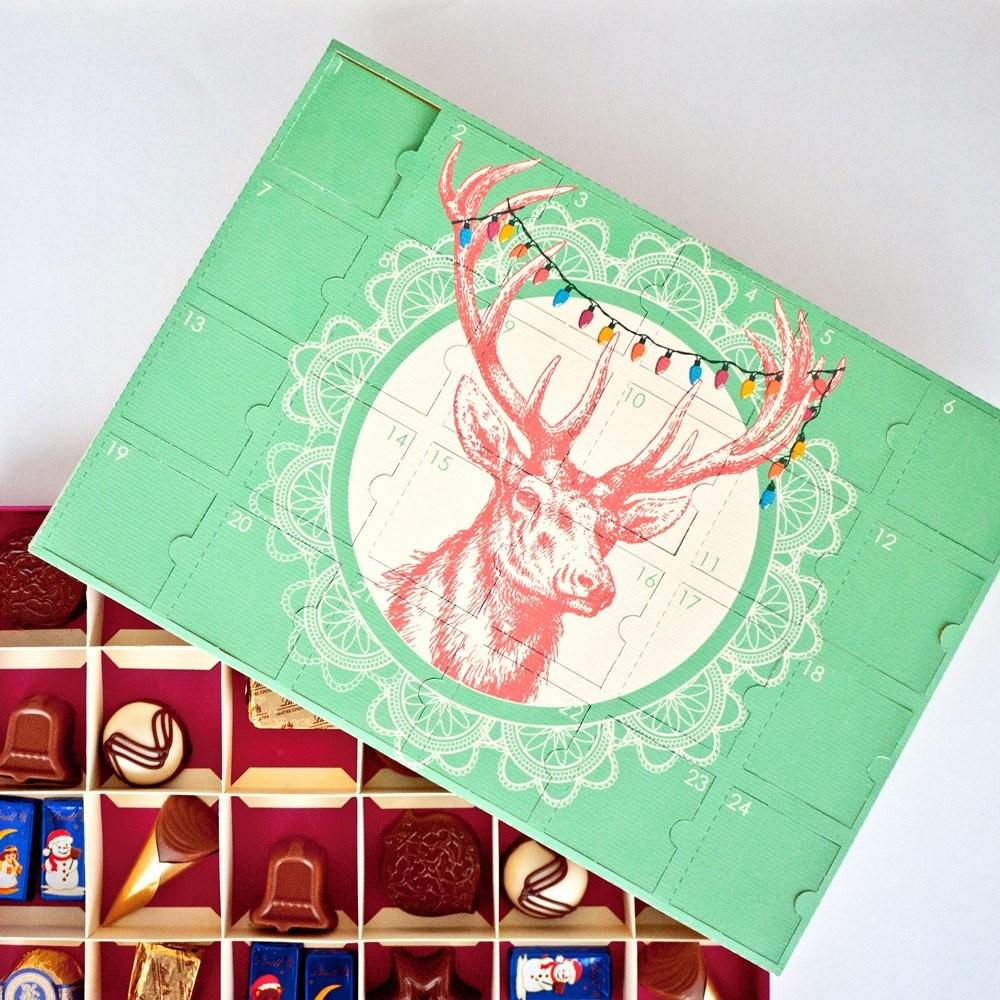 Digital Diy Chocolate Advent Calendar Next Nicx
