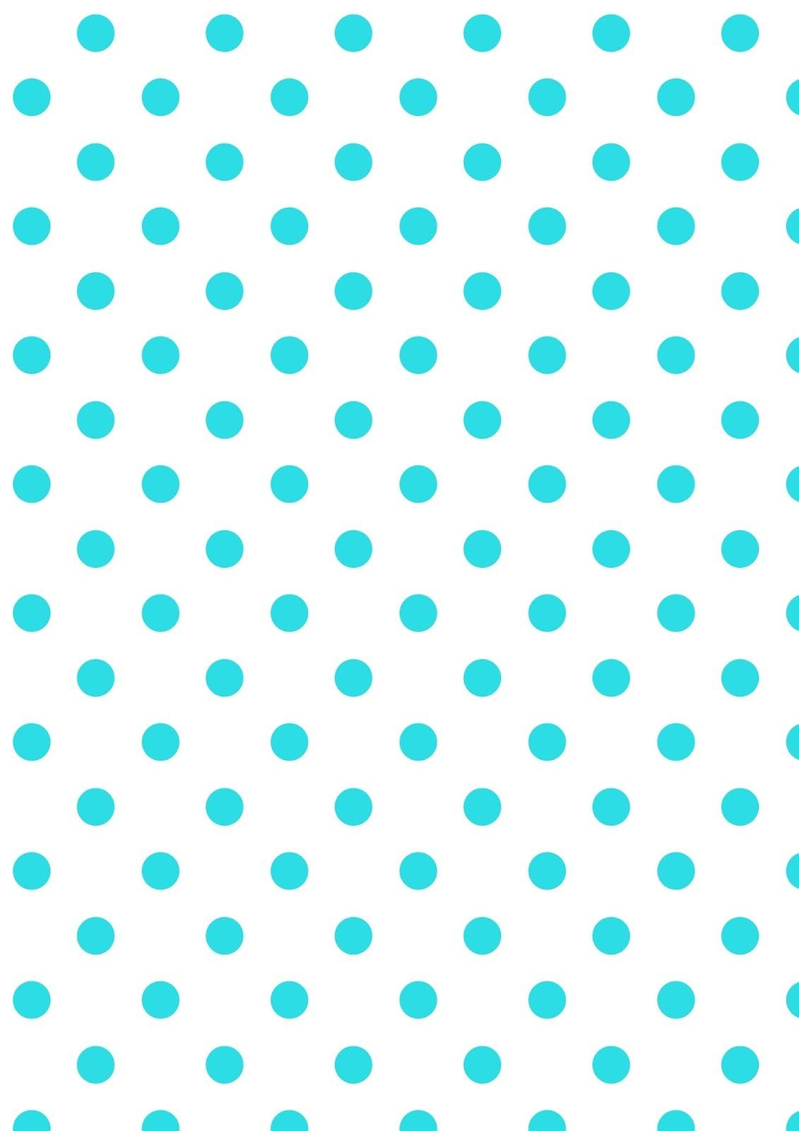 Digital Polka Dot Scrapbooking Papers Ausdruckbare