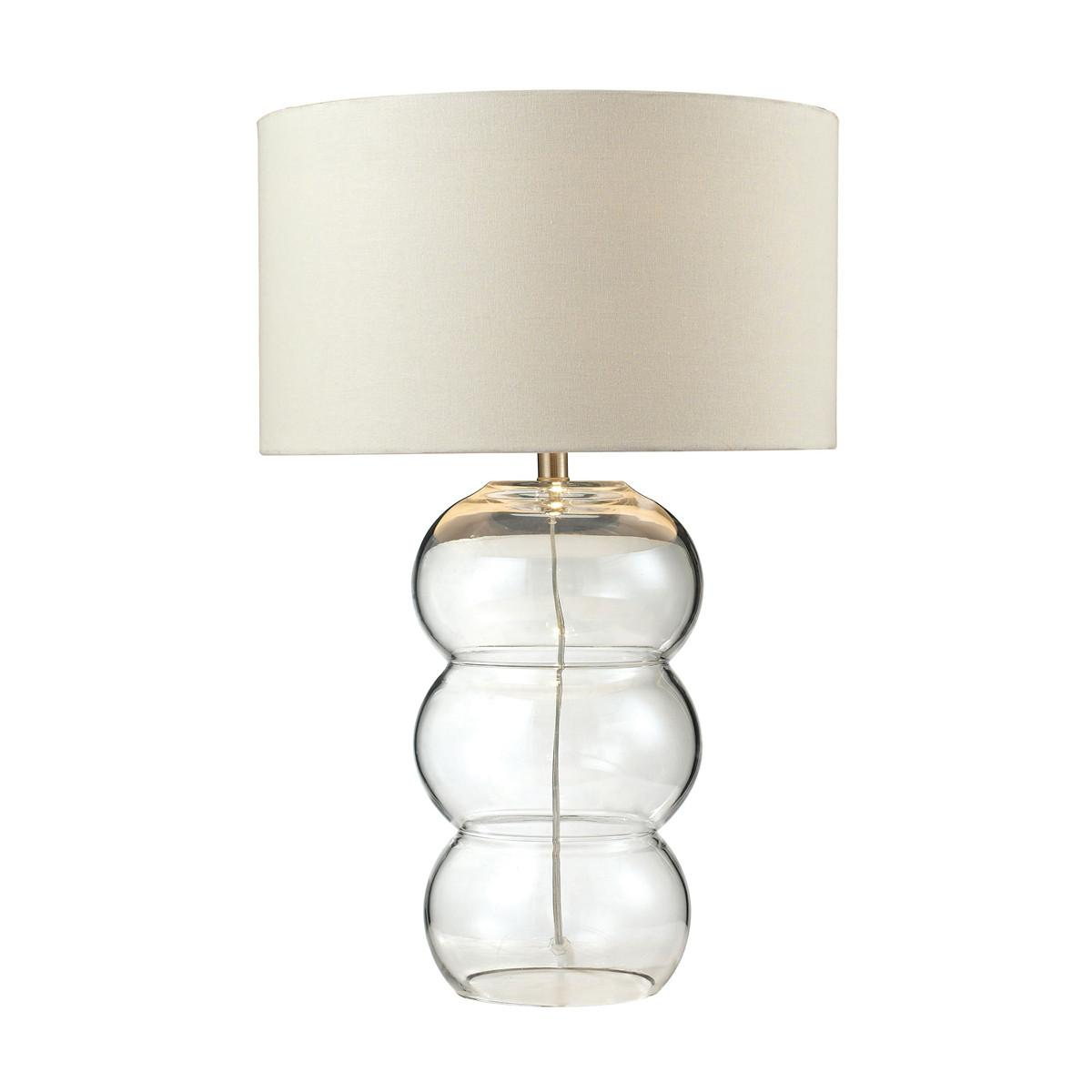 Dimond Lighting Ring Lamp Pearlescent Glass