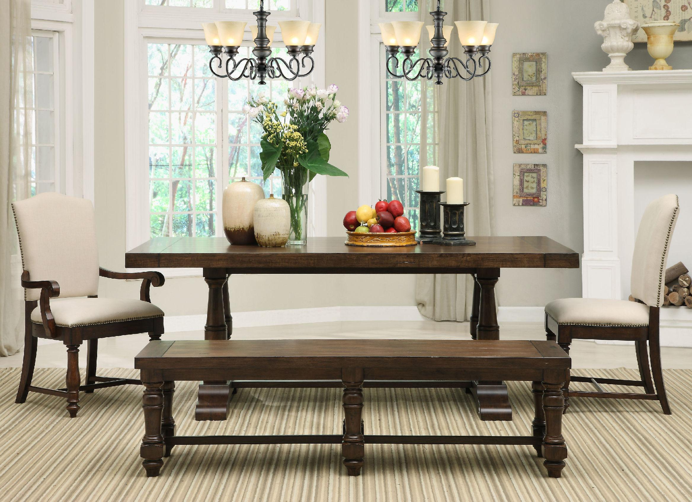 Dinette Sets Bench Support Your Dining Room Ideas