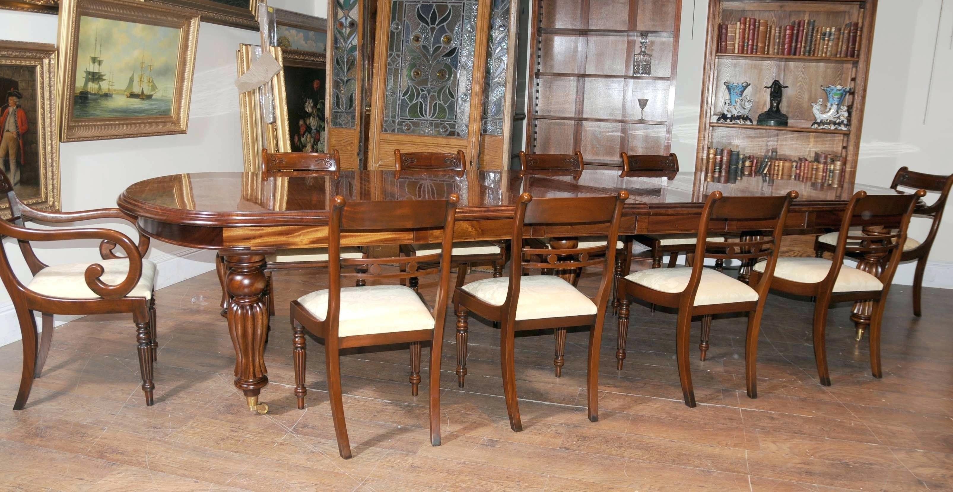 Dining Chairs Victorian Room Furniture Sets