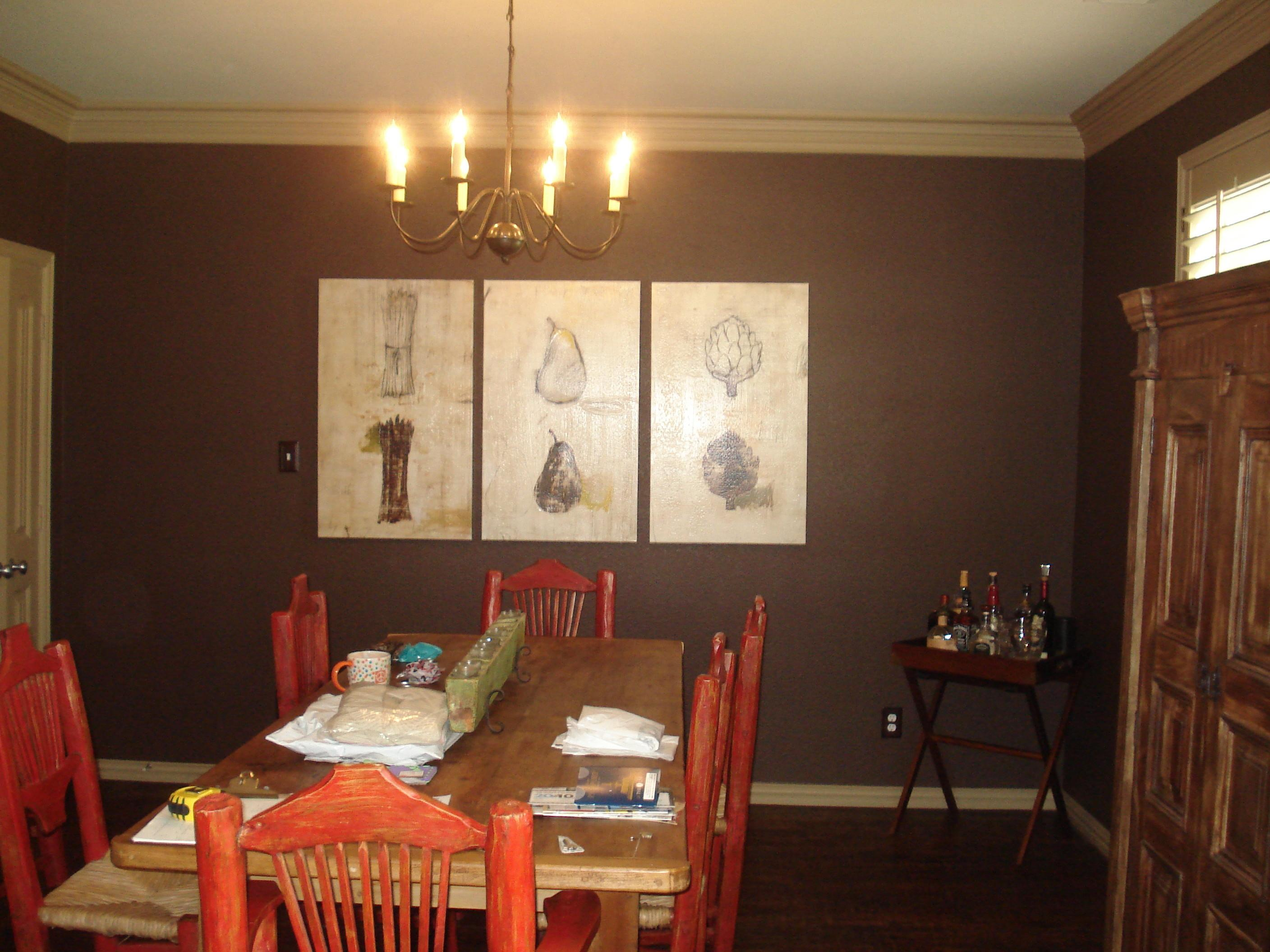 Dining Room Accent Wall Colors Theamphletts