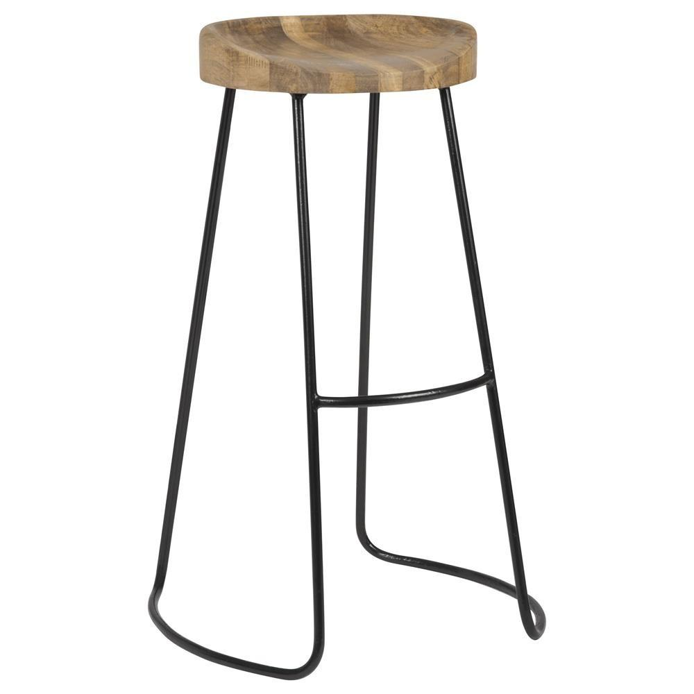 Dining Room Backless Metal Counter Stools Kitchen