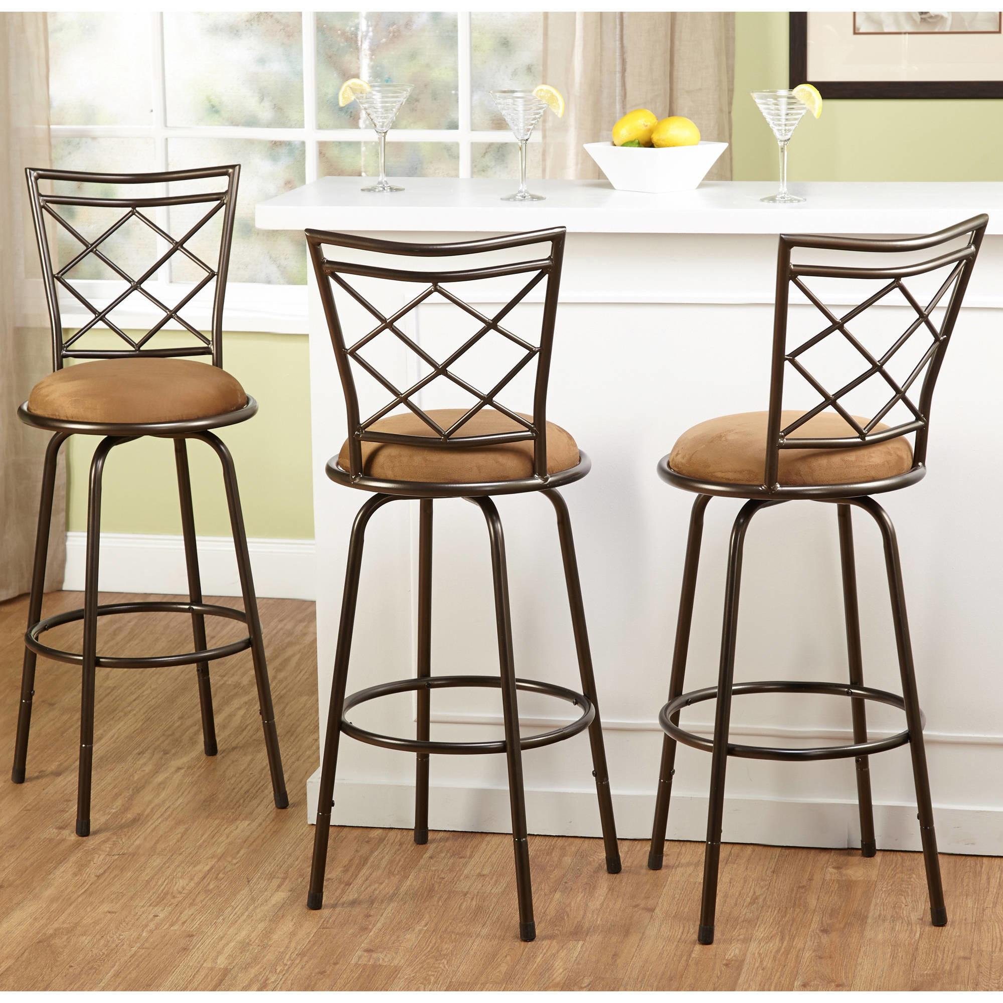 Dining Room Bar Table Metal Counter Stools
