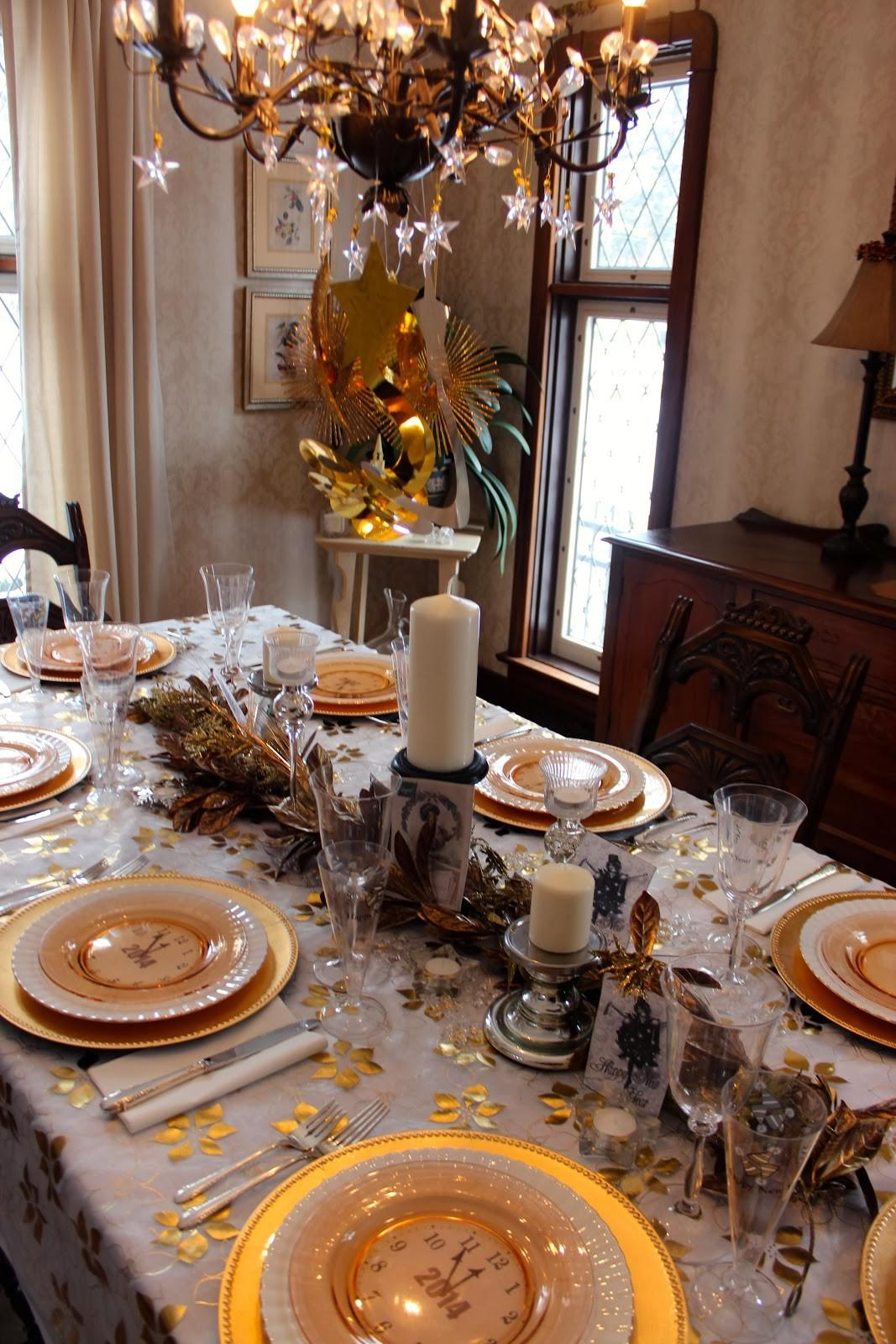 Dining Room Celebrating New Year Eve 2018 Your