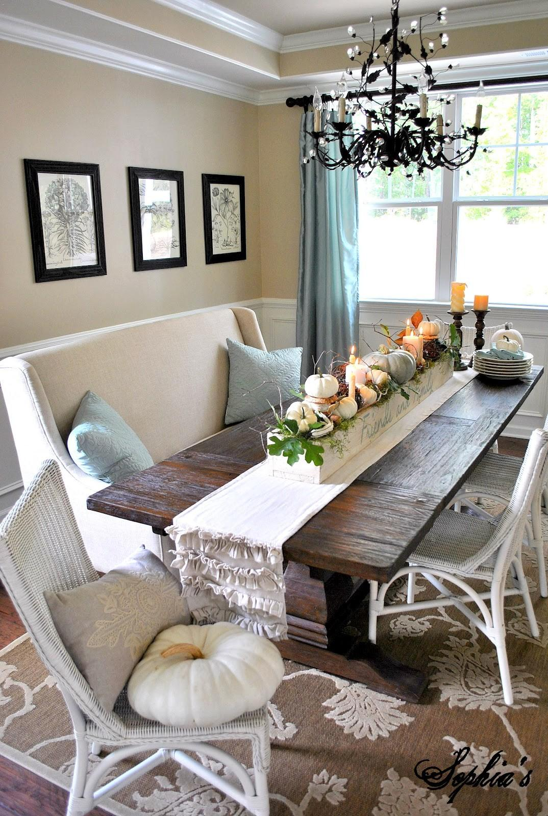 Dining Room Centerpieces Love Decorating Natural