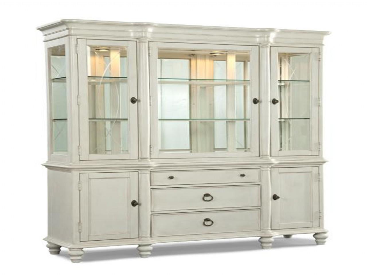 Dining Room China Cabinet White