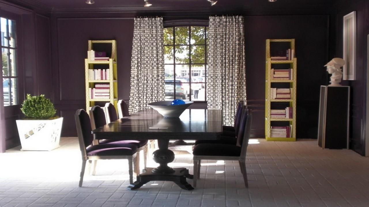 Dining Room Colours Schemes Eggplant Color Living
