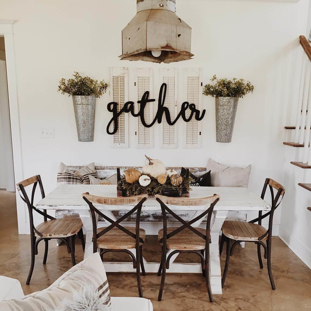 Dining Room Farmhouse Decor Mag