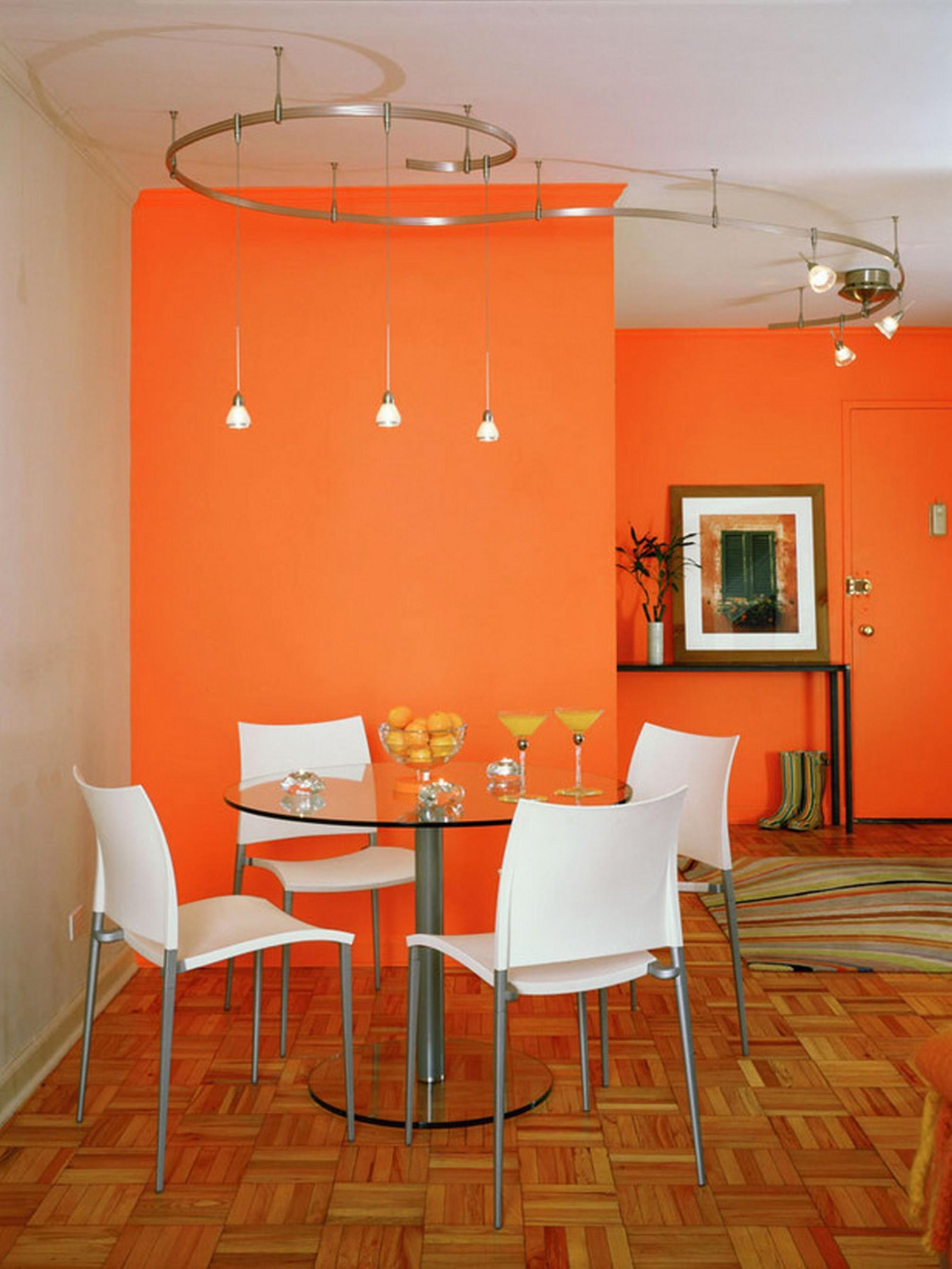 Dining Room House Accent Wall Color Schemes