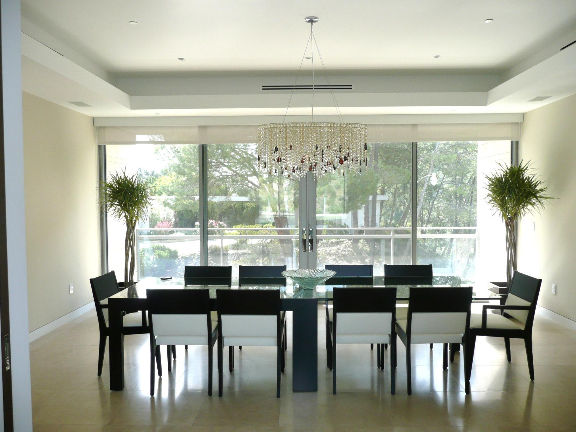 Dining Room Luxury Modern Home Rooms Interior