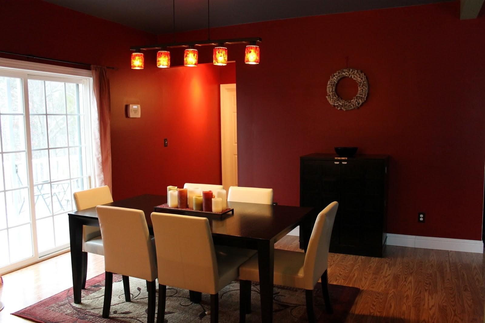 Dining Room Red Paint Ideas Design Home