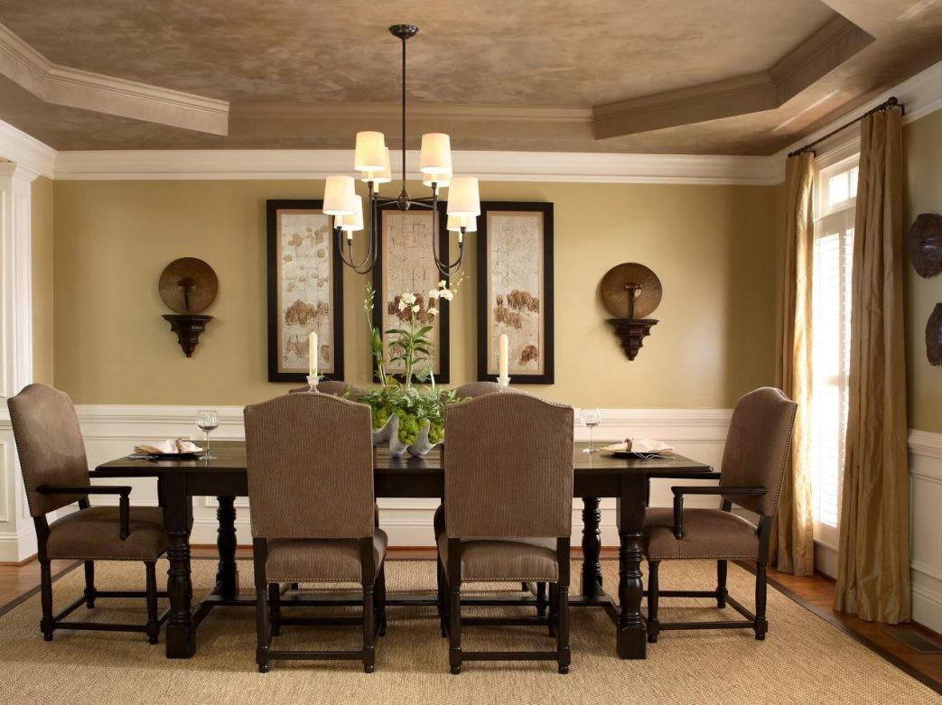 Dining Room Wall Modern Apartment Decor Ideas