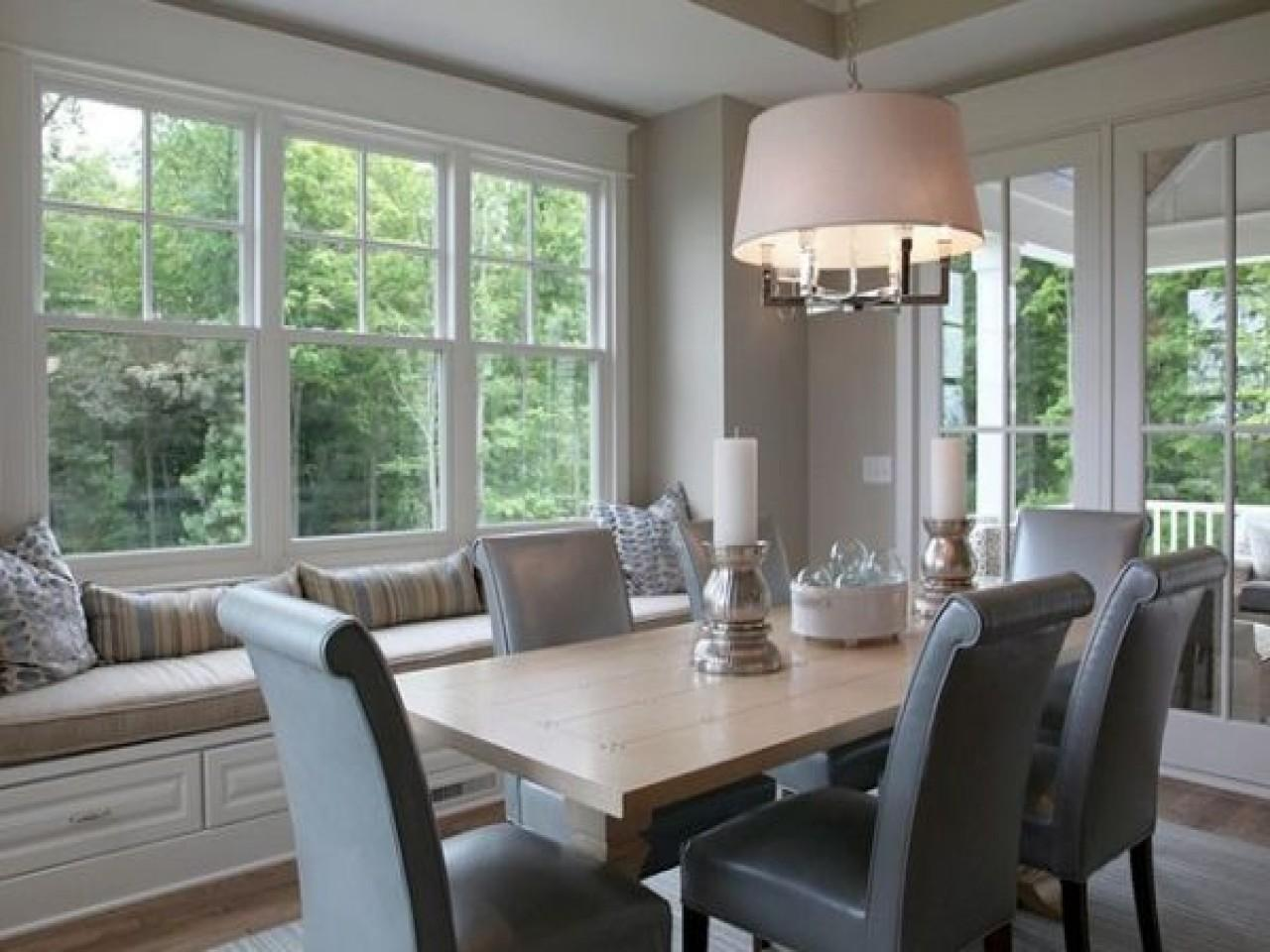Dining Room Window Seat Home Design