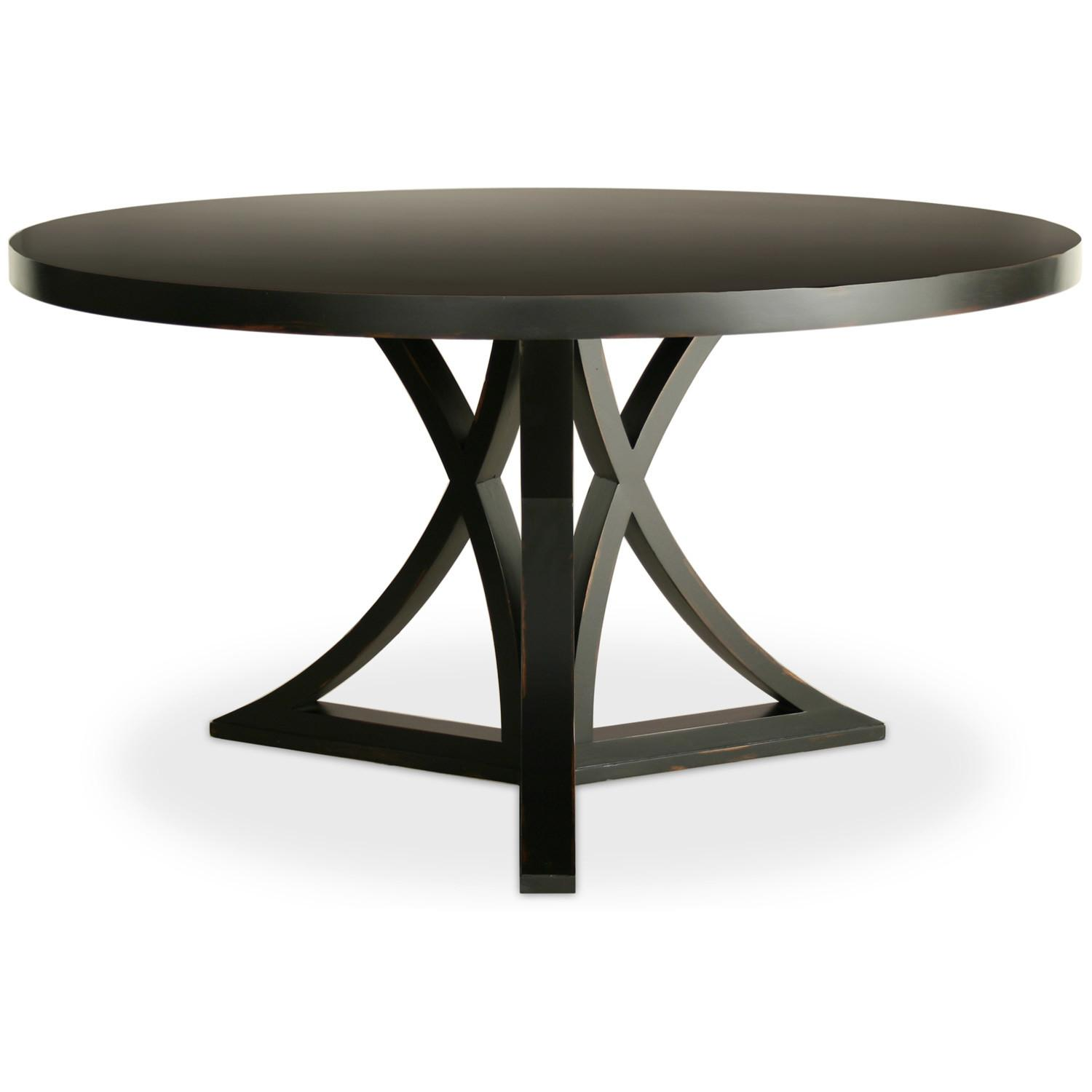 Dining Table Black Round