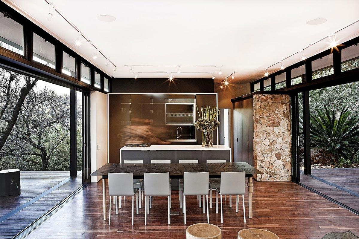 Dining Table Kitchen Compact Contemporary Home