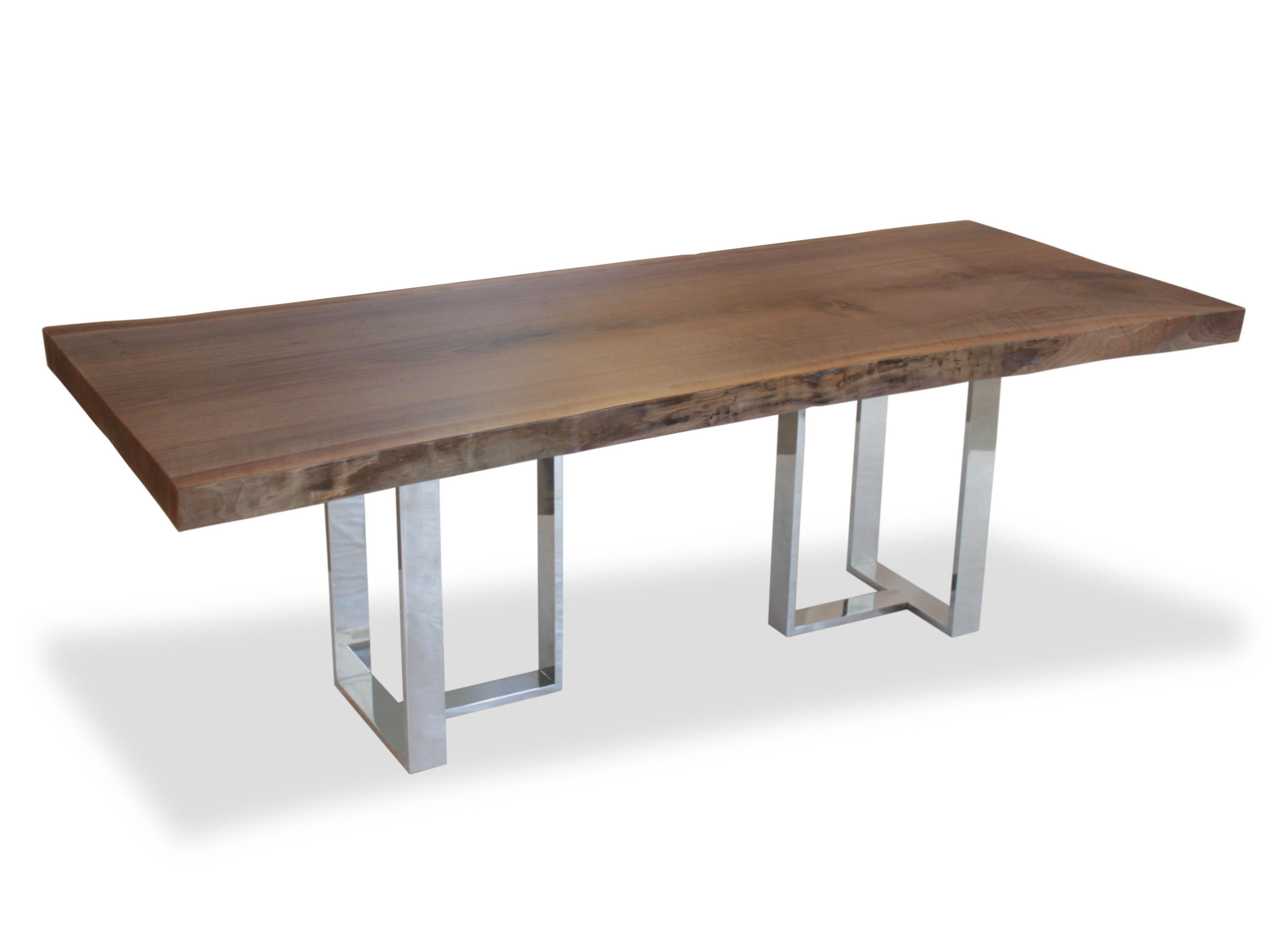 Dining Table Modern Geometric Base Contemporary
