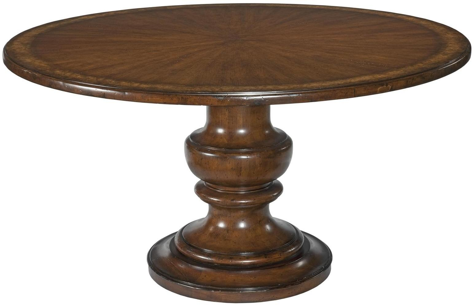 Dining Table Round Pedestal Inch