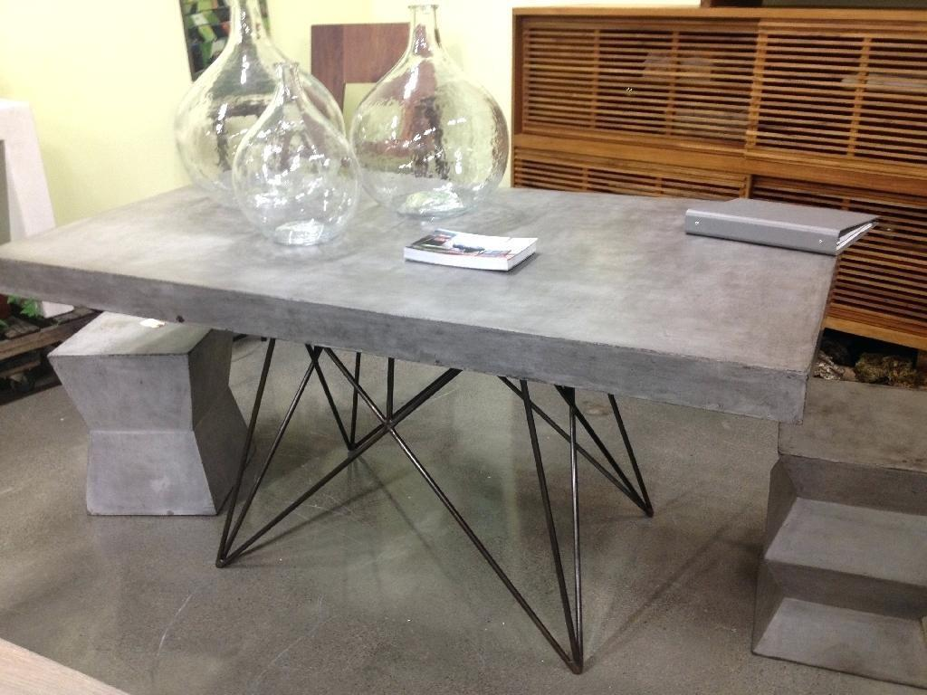 Dining Tables Agreeable Diy Concrete Table Top