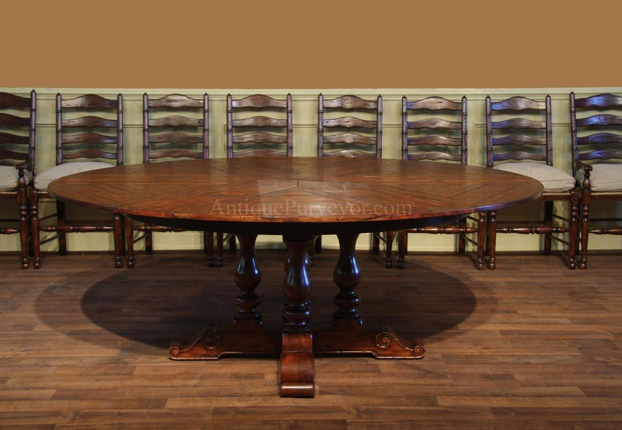 Dining Tables Round Reclaimed Wood Table