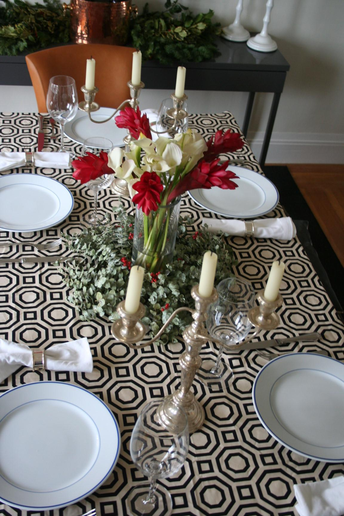 Dinner Party Tablescape Kate Collins Interiors