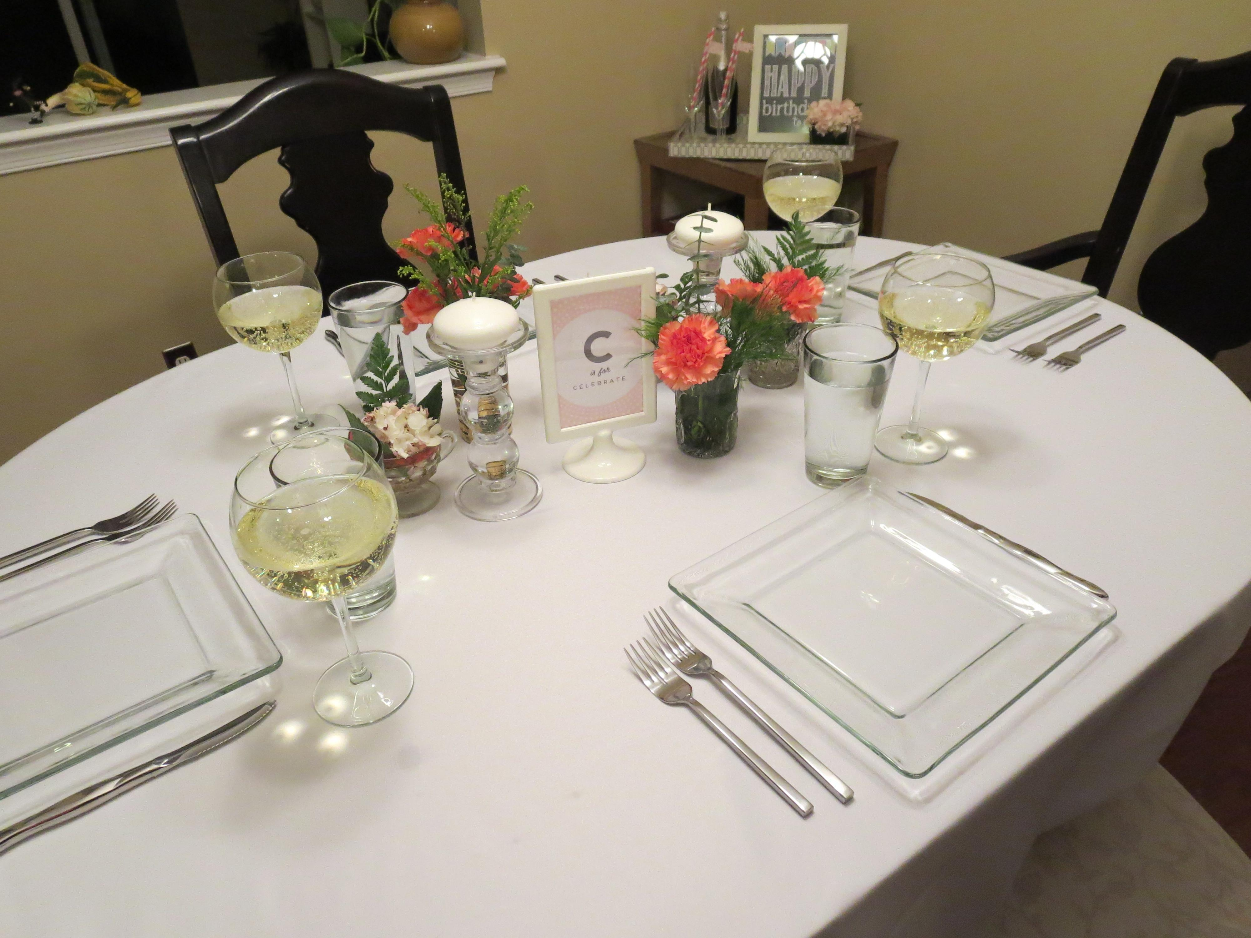 Dinner Party Vie Brie Table Setting Clipgoo