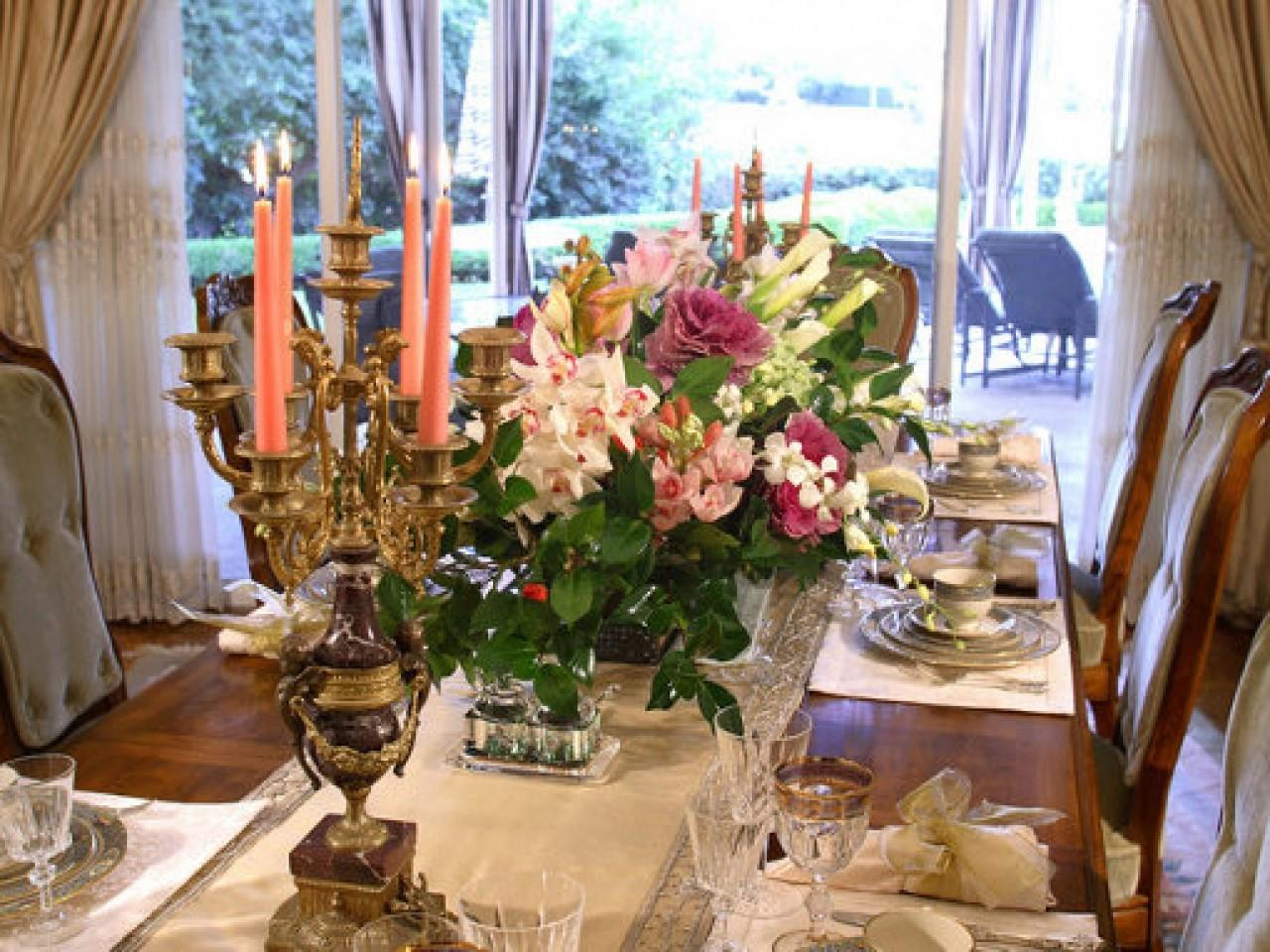 Dinner Room Decorating Ideas Party