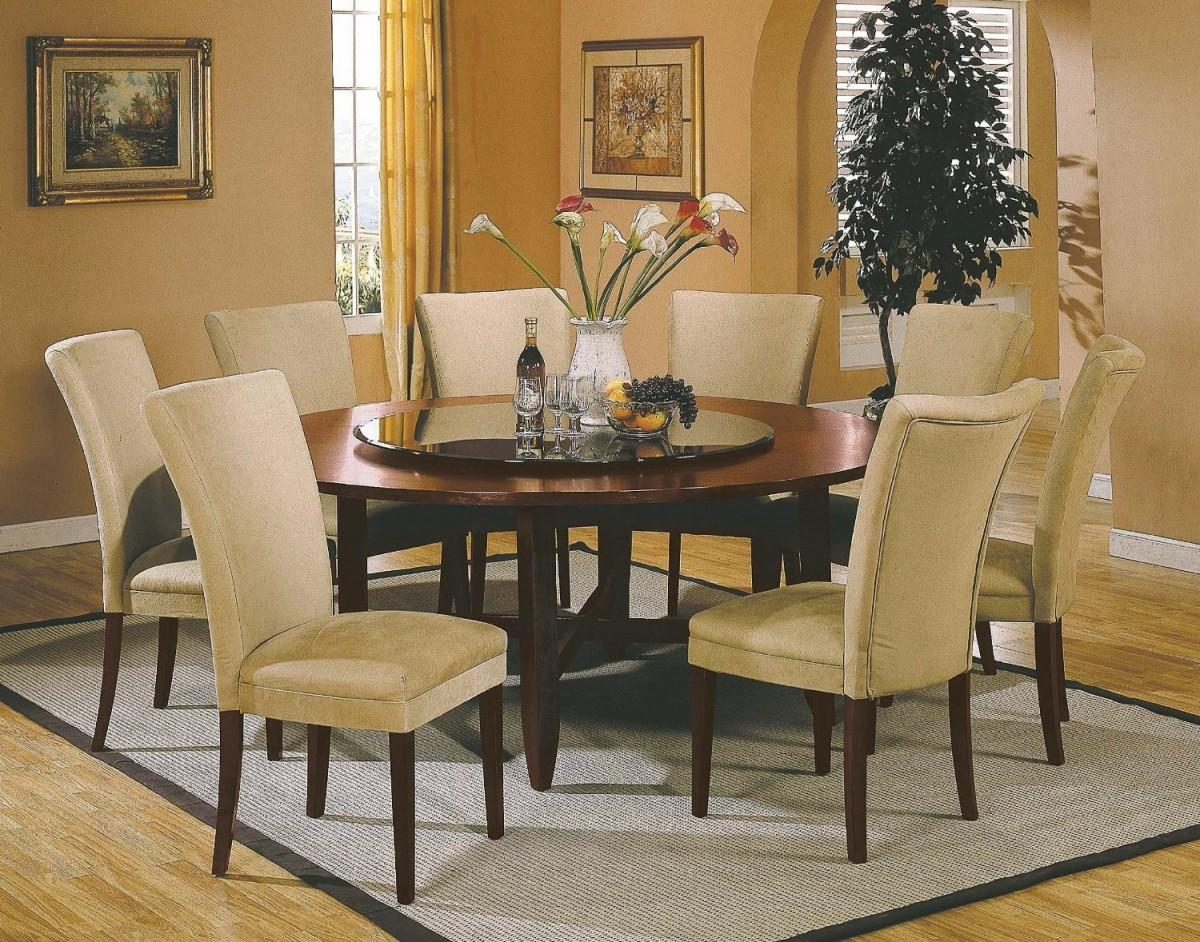 Dinner Table Centerpiece Ideas Round Dining Room