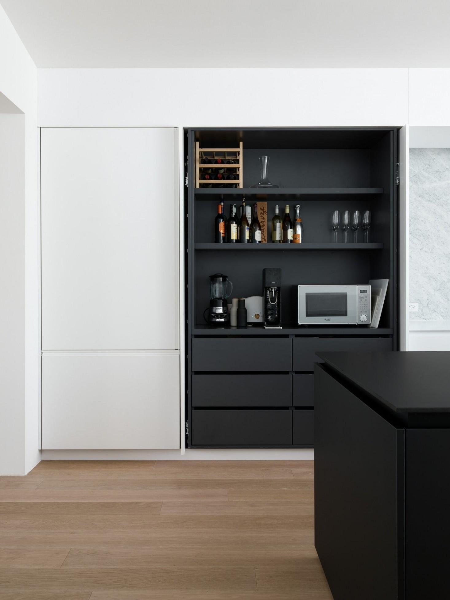 Disappearing Act Minimalist Hidden Kitchens Remodelista