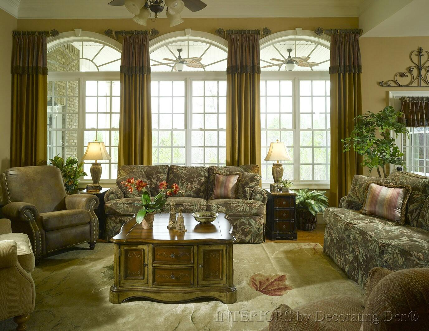 Discover Creative Custom Window Treatments Arched