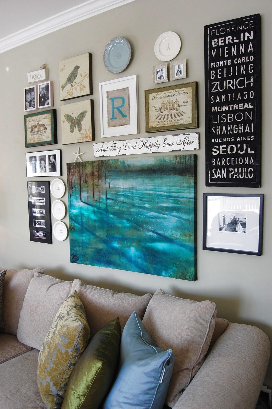 Dishfunctional Designs Create Eclectic Wall