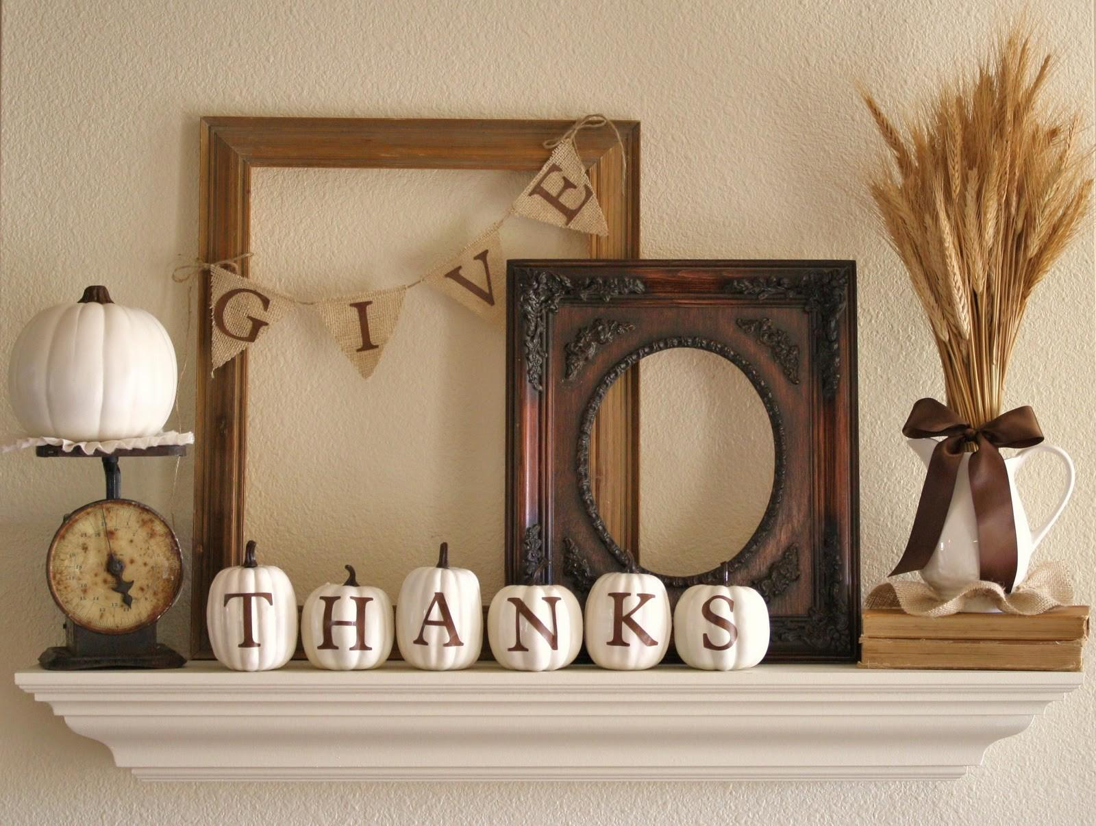 Dishfunctional Designs Giving Thanks Thankful Decor