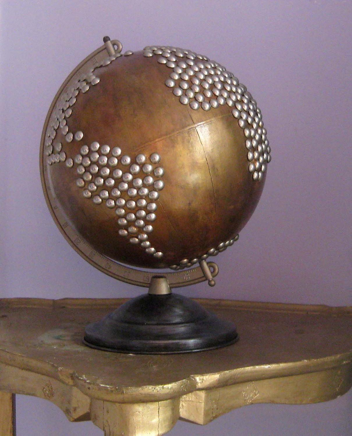 Dishfunctional Designs Global Recycling Old Globes Upcycled
