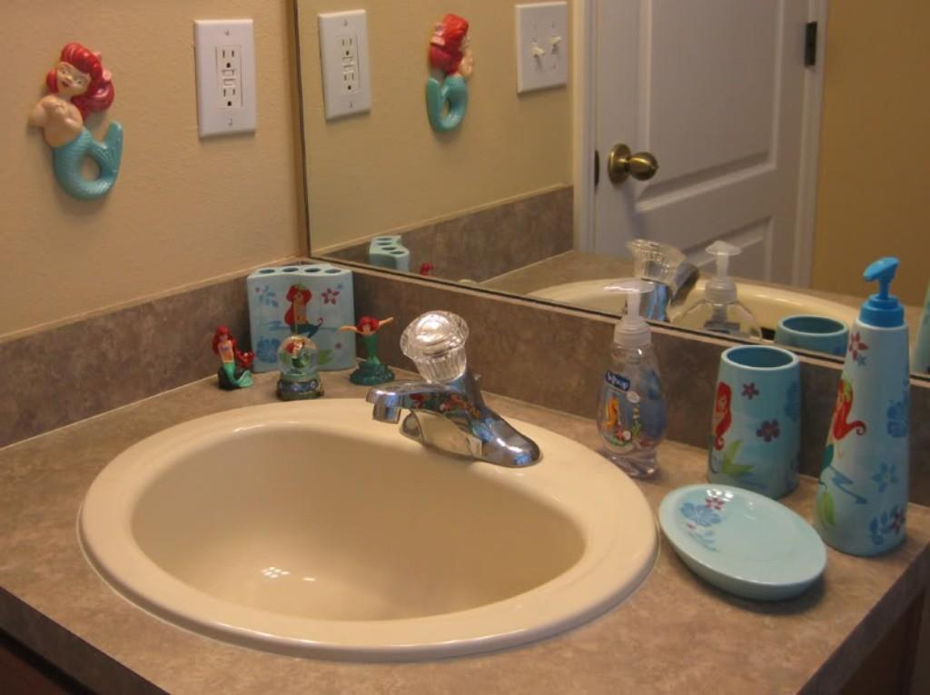 Disney Bathroom Accessories Kids Office Bedroom