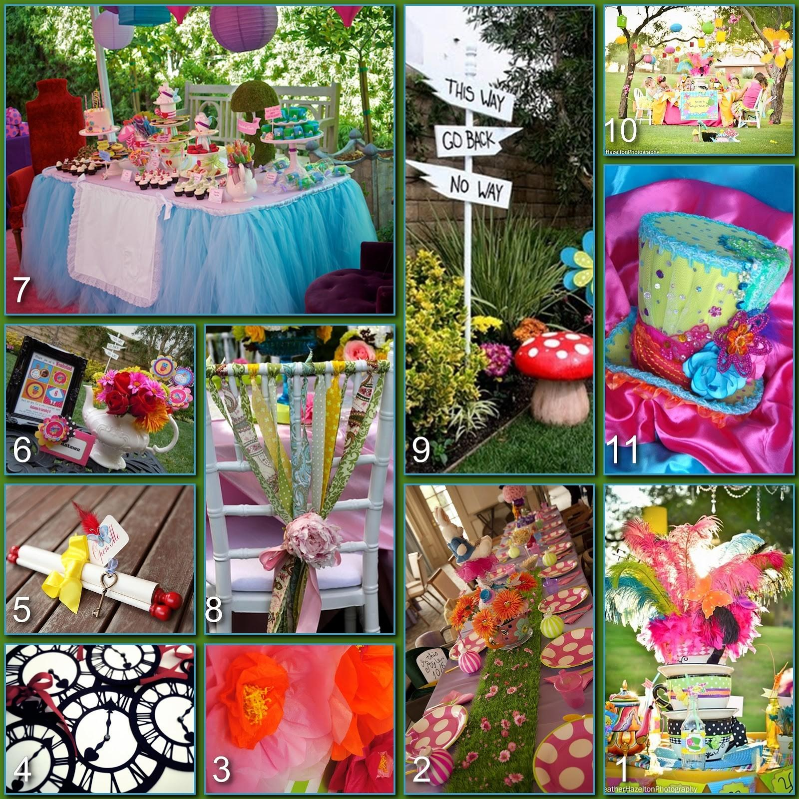 Disney Donna Kay Party Boards Mad Hatter Tea