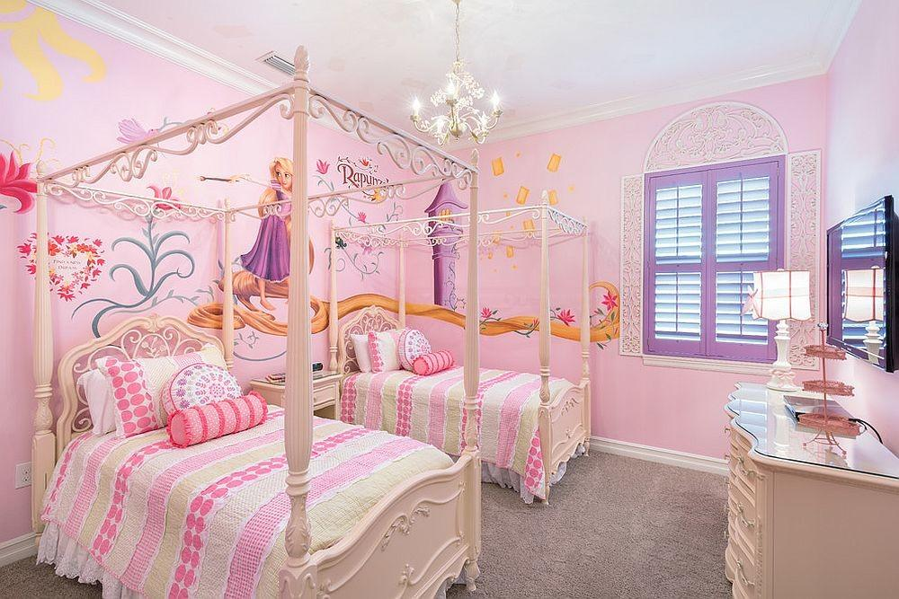 Disney Inspired Rooms Celebrate Color Creativity