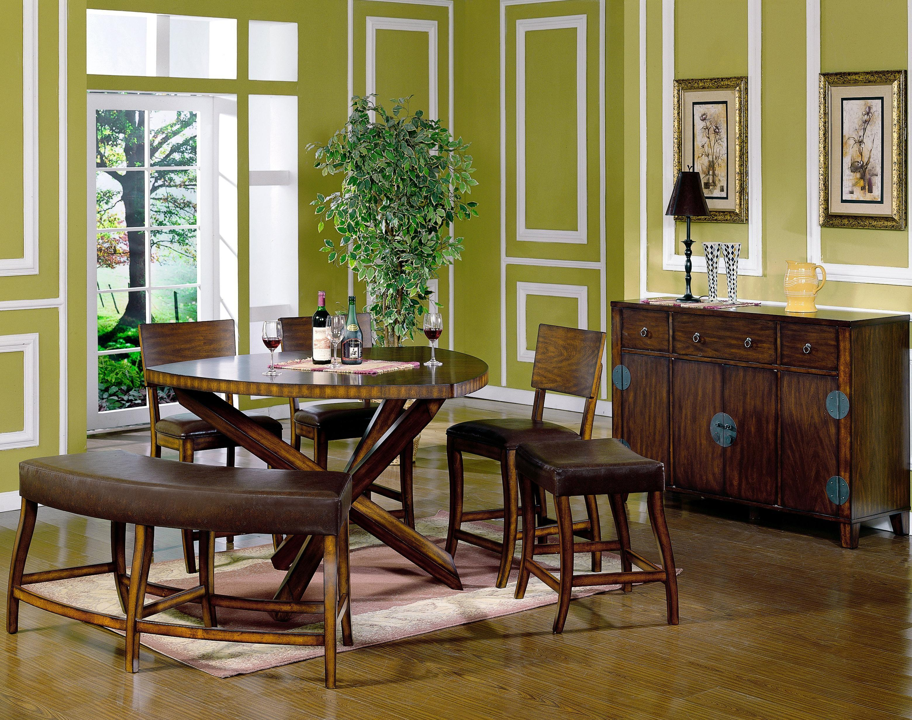 Divine Green Dining Room Ideas Base Rounded