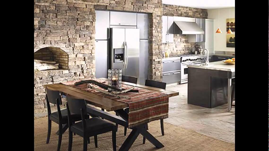 Divine Stone Wall Ideas Your Living Room Dining