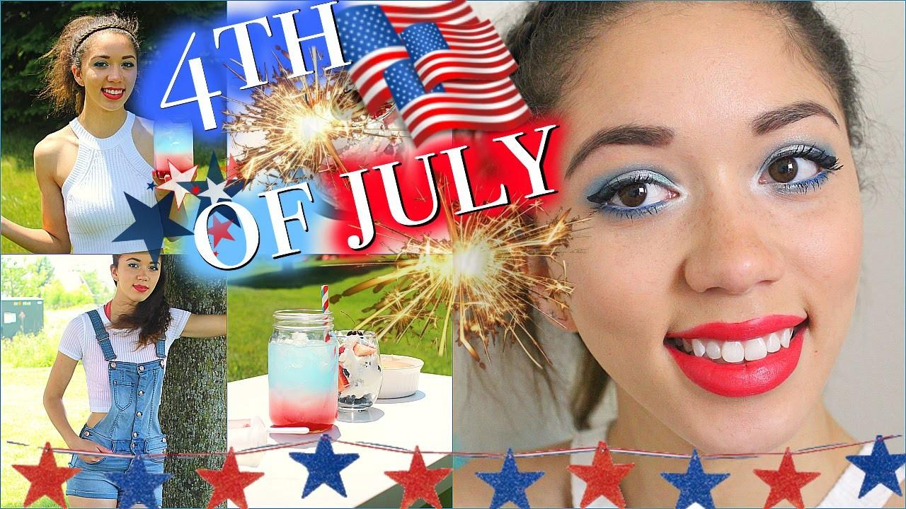 Diy 4th July Snacks Drink Makeup Outfit Ideas