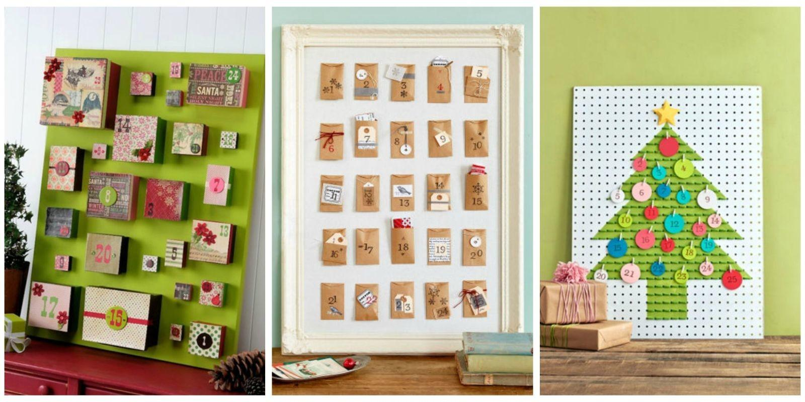 Diy Advent Calendar Ideas Homemade Christmas