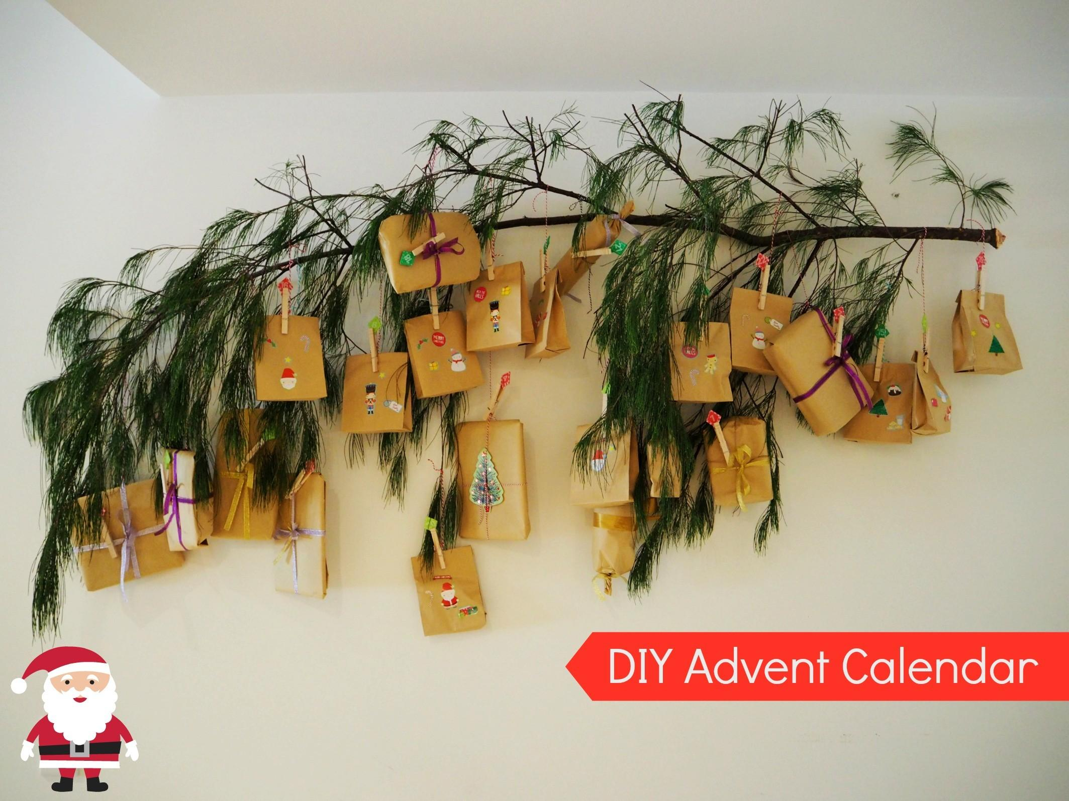 Diy Advent Calendar Move Fuel Love