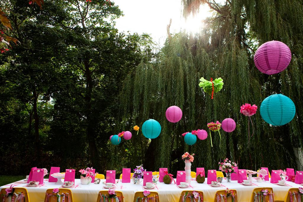 Diy Alice Wonderland Birthday Party Fresh