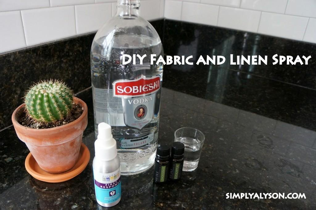 Diy All Natural Fabric Linen Spray Video Simply Alyson
