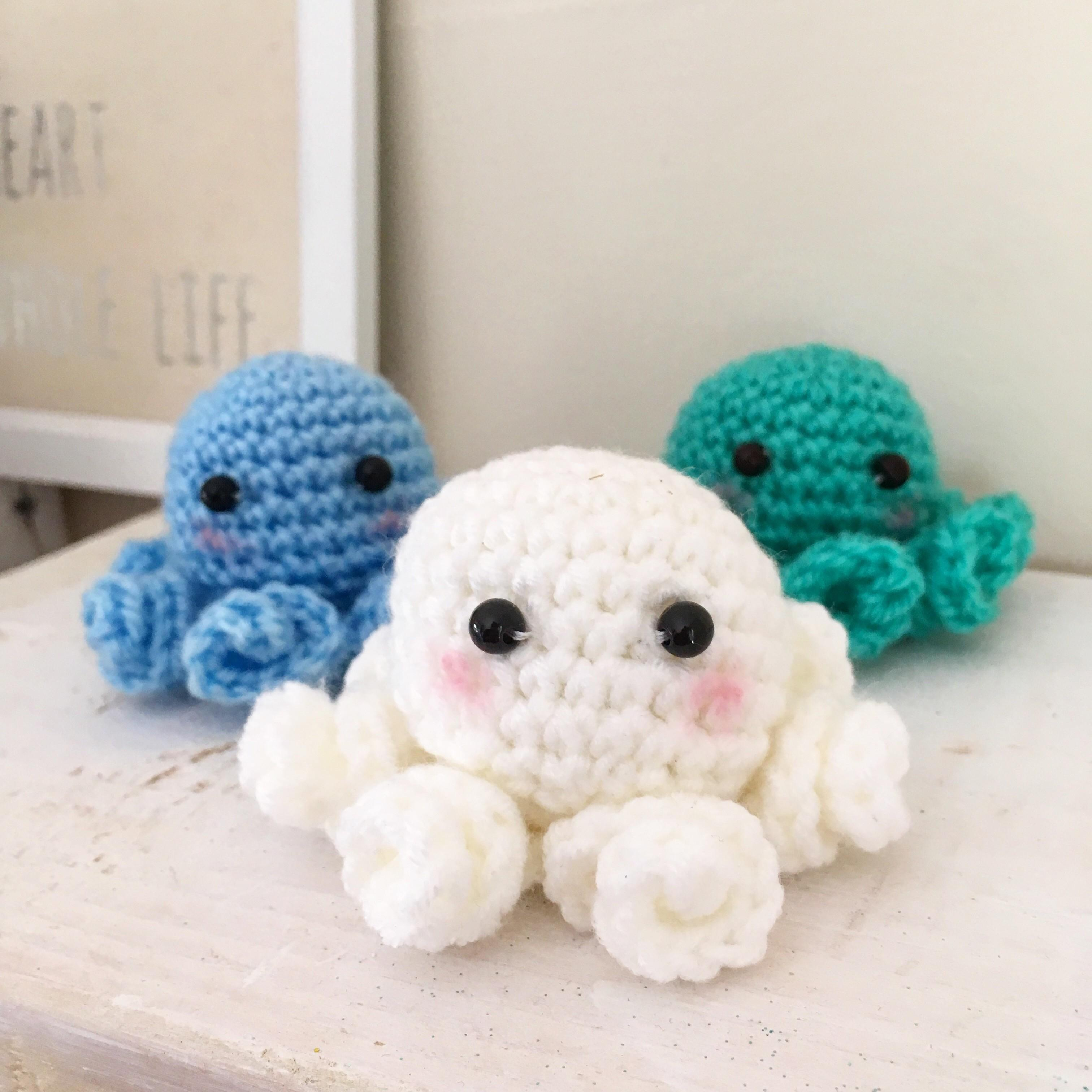 Diy Amigurumi Crochet Octopus Pattern Crafty Mummy