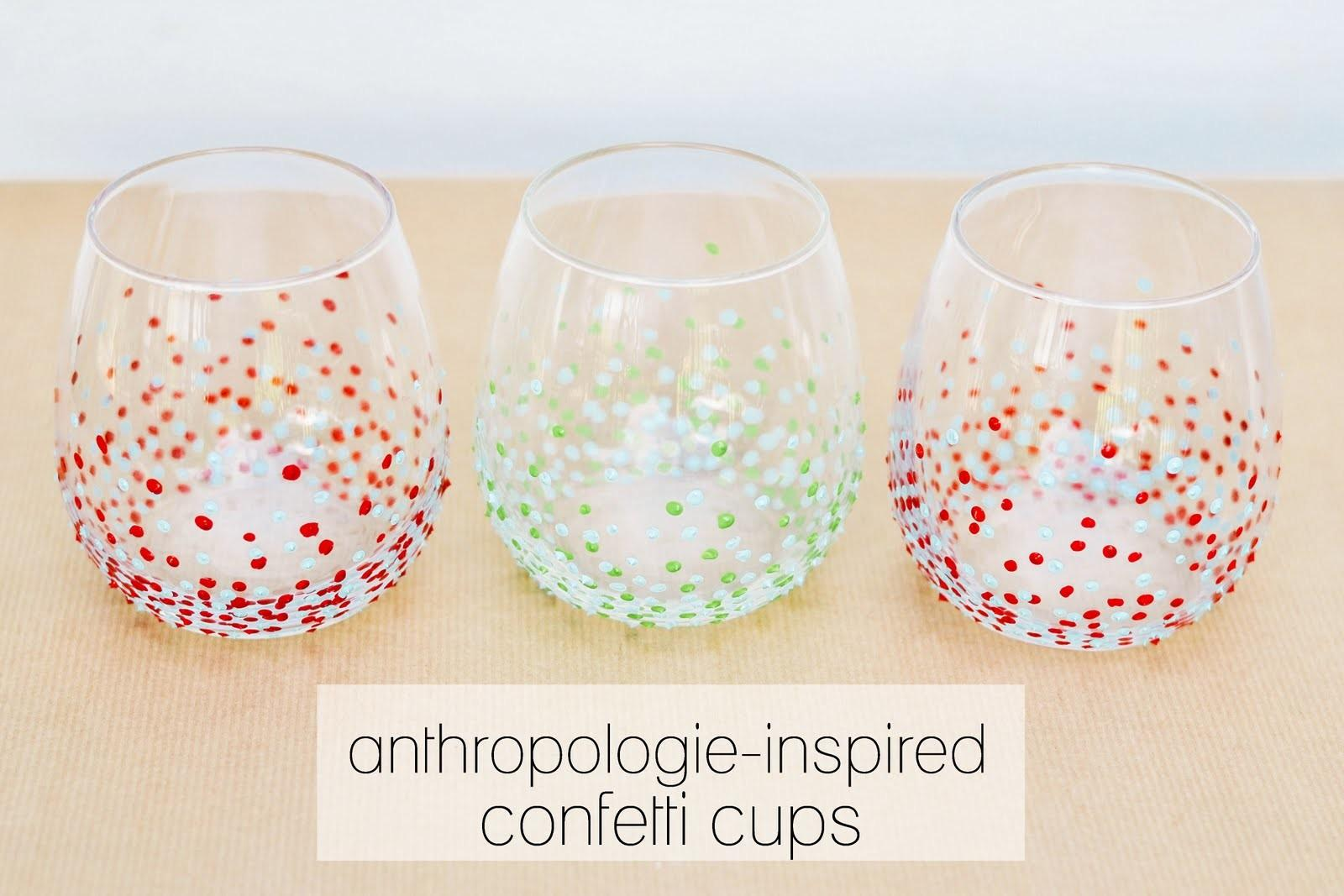 Diy Anthropologie Inspired Cups