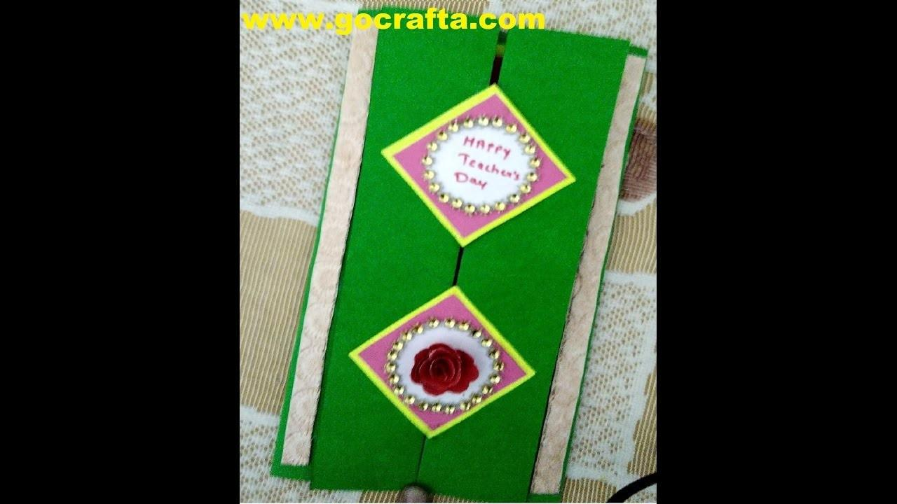 Diy Art Craft Make Birthday Greeting Card