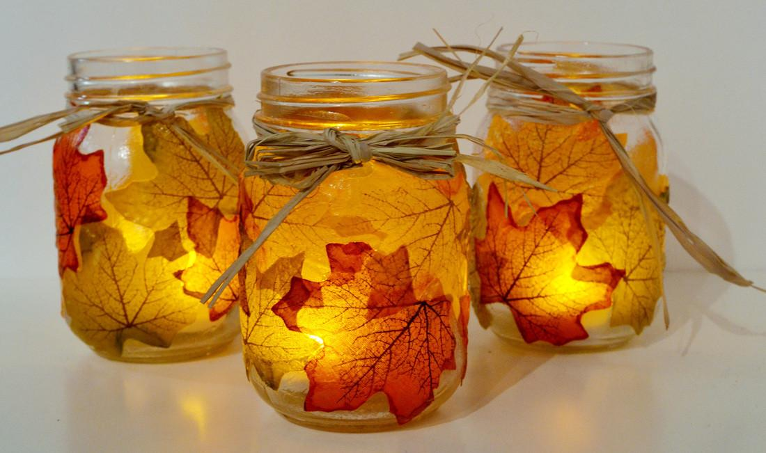 Diy Autumn Lamps Youth Awesome