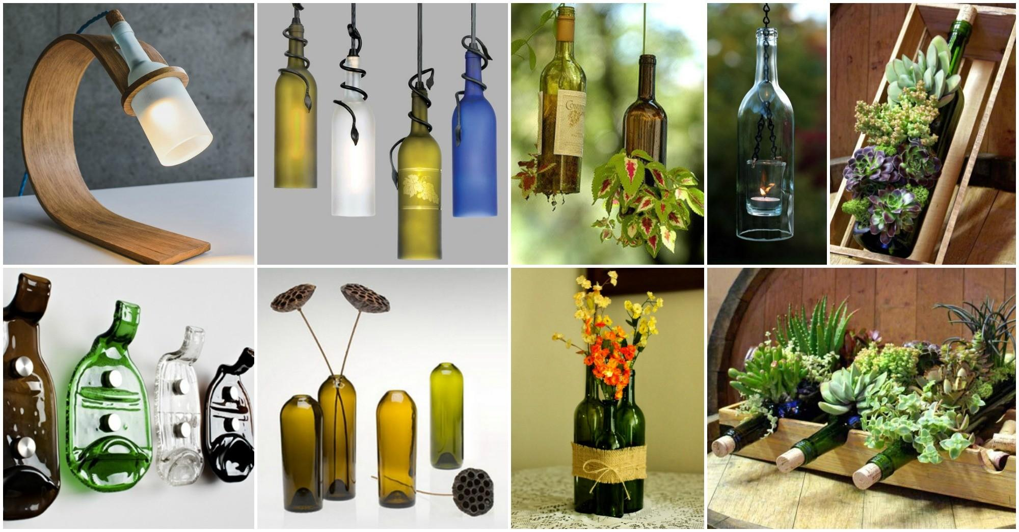 Diy Awesome Bottle Crafts Beautify Your Home