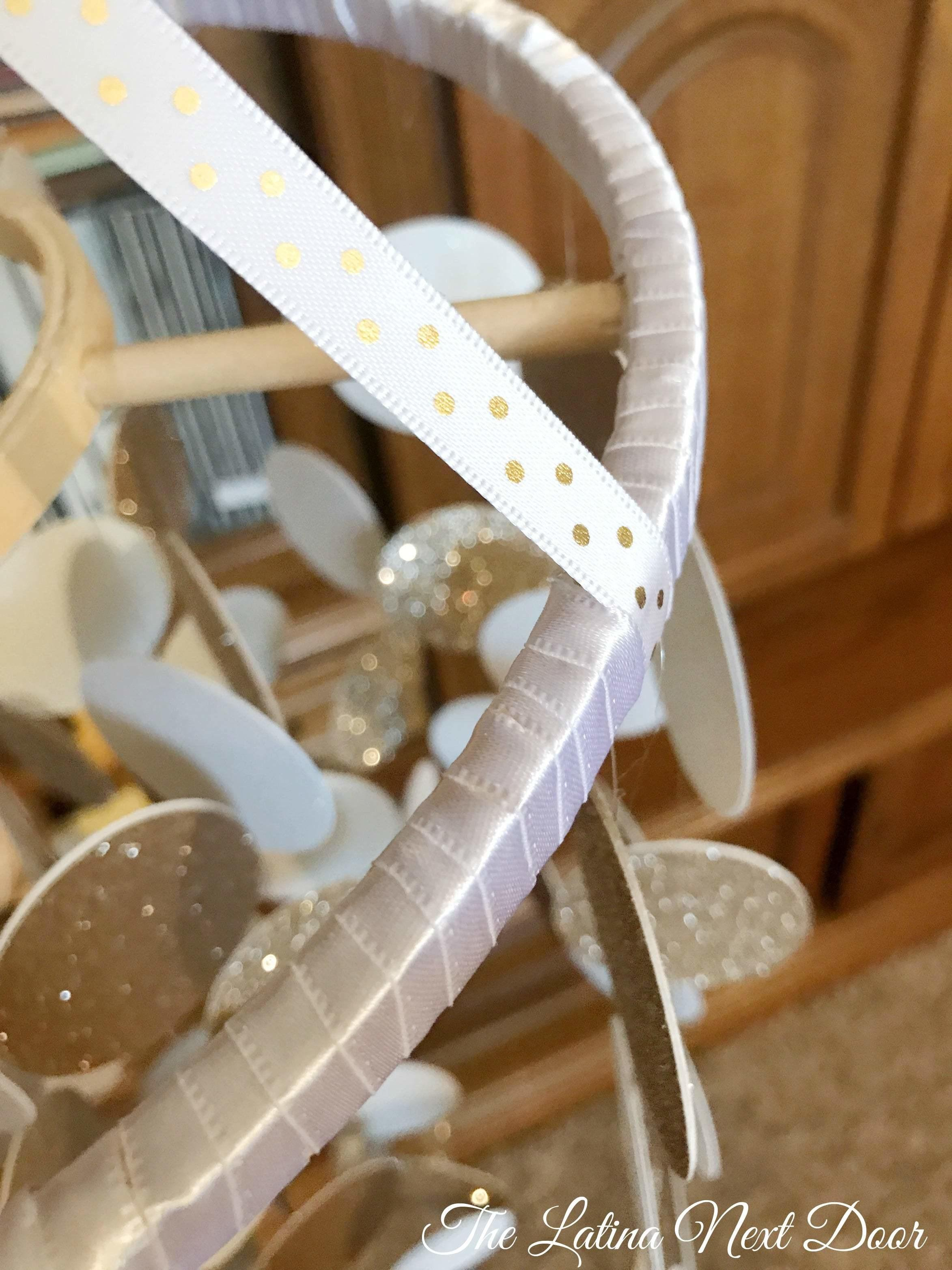 Diy Baby Mobile Circle Chandelier Thrift Spice